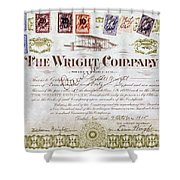 Wright Brothers, 1915 Shower Curtain