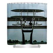 Wright Flyer Memorial Dayton Shower Curtain