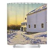 Wright-locke Farm And Squash House Shower Curtain