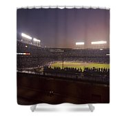 Wrigley Field At Dusk 2 Shower Curtain