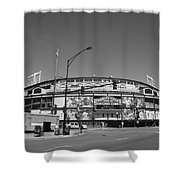 Wrigley Field - Chicago Cubs 21 Shower Curtain