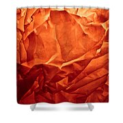 Wrinkled Passion Shower Curtain