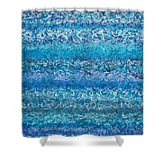 Writ On Water Iv Shower Curtain