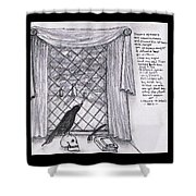 Writer's Veiw Shower Curtain