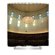 Writings On The Wall Shower Curtain