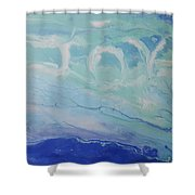 Written In The Clouds Shower Curtain