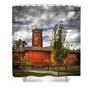 Wsu's Bryan Hall - Pullman Washington Shower Curtain