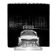 Wurlitzer Organ In The Lincoln Theatre Shower Curtain