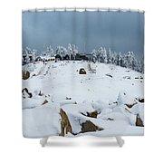 Wurmberg, Harz Mountains Shower Curtain