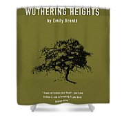 Wuthering Heights Greatest Books Ever Series 017 Shower Curtain