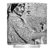 Wuzzie Northern Paiute Shower Curtain