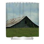 Wv Barn Shower Curtain