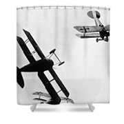 Wwi: Dogfight Shower Curtain