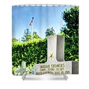 Wwi Medal Of Honor - Vintage Shower Curtain