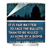 Wwi: Poster, 1915 Shower Curtain