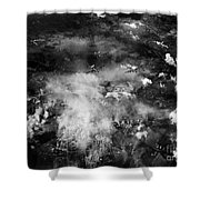 Wwii B-24 Failed Bombing Auschwitz Sept. 13th Shower Curtain