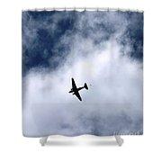 Douglas C-47 Skytrain 2 - The Drop Shower Curtain