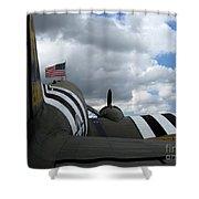 Douglas C-47 Skytrain 1 Shower Curtain