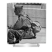 Wwii Vet Shower Curtain