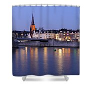 Wyck In Maastricht In The Evening Shower Curtain