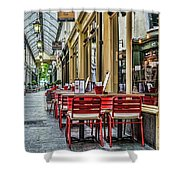 Wyndham Arcade Cafe 1 Shower Curtain