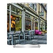 Wyndham Arcade Cafe 3 Shower Curtain