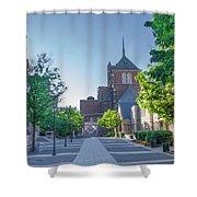 Wynn Commons - University Of Pennsylvania Shower Curtain