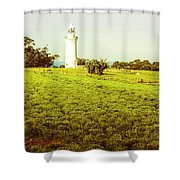 Wynyard Lighthouse Way Shower Curtain