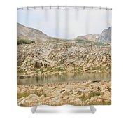 Wyoming At Altitude 4 Shower Curtain