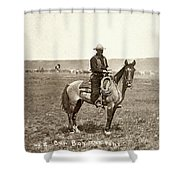 Wyoming: Cowboy, C1883 Shower Curtain