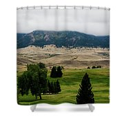 Wyoming Landscape 51a Shower Curtain