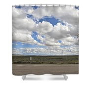 Wyoming Pet Area Shower Curtain