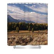 Wyoming Scenery One Shower Curtain