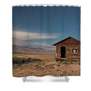 Wyoming Shack Shower Curtain