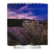 Wyoming Sunset Shower Curtain