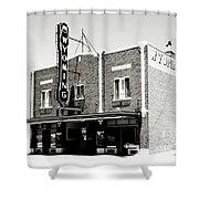 Wyoming Theater 2 Shower Curtain