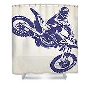 X Games Motocross 1 Shower Curtain