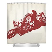 X Games Motocross 2 Shower Curtain