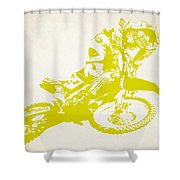X Games Motocross 5 Shower Curtain