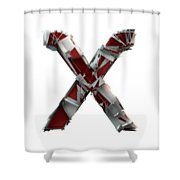 X Is For X-ray Shower Curtain