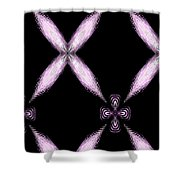X Marks The Spot Shower Curtain