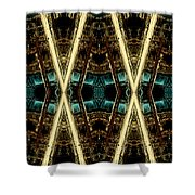 X-phile Shower Curtain