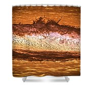X-ray Of A Wave Shower Curtain