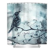 X-ray Vision I Shower Curtain