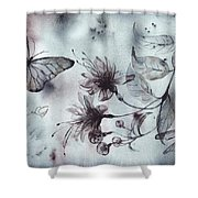 X-ray Vision II Shower Curtain