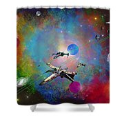X-wing Fighter Shower Curtain