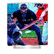 Xander Bogaerts Shower Curtain