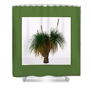 Xanthorrhoea Australis Tree Shower Curtain