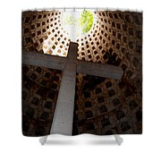 Xcaret Cemetery Catacomb Shower Curtain