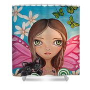 Xenia Fairy Shower Curtain